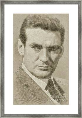 Rod Taylor, Actor Framed Print by Frank Falcon