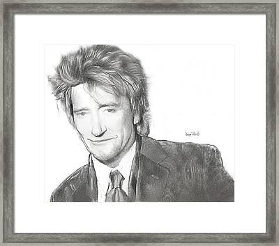 Rod Framed Print by Wayne Pascall