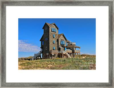 Rodanthe House  2938 Framed Print by Jack Schultz