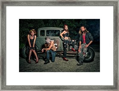 Rodders #5 Framed Print