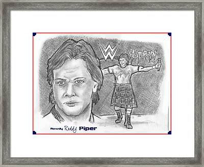 Roddy Piper Framed Print