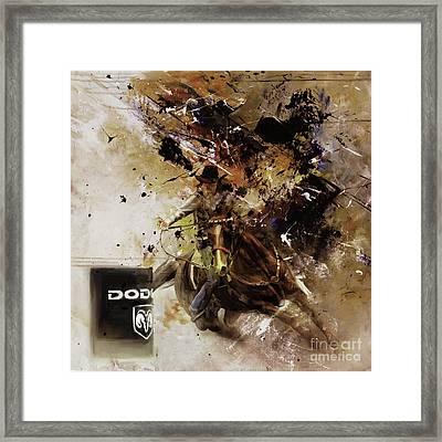 Rodeo 03d Framed Print by Gull G