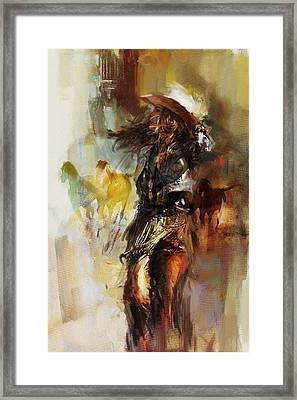 Rodeo 20 Framed Print