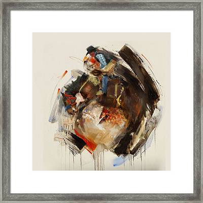 Rodeo 27 Framed Print by Maryam Mughal