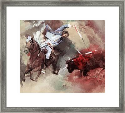 Rodeo 43b Framed Print