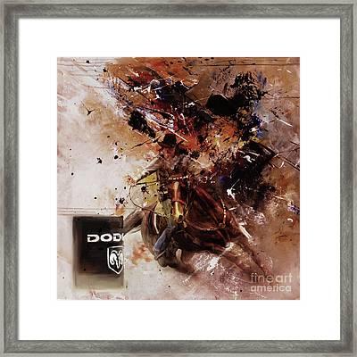 Rodeo 45h Framed Print