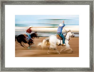 Rodeo Dreams Framed Print by Todd Klassy