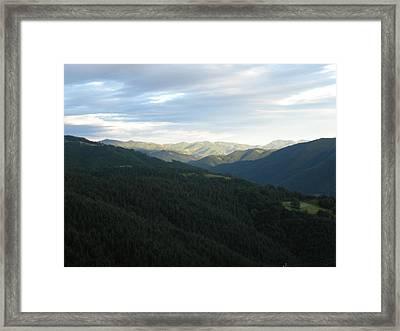 Rodope Evning Framed Print by Antoaneta Melnikova- Hillman
