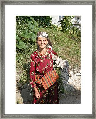 Rodopean Women-2 Framed Print by Antoaneta Melnikova- Hillman