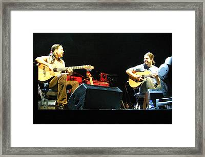 Rodrigo Y Gabriela 18 Framed Print by Jez C Self
