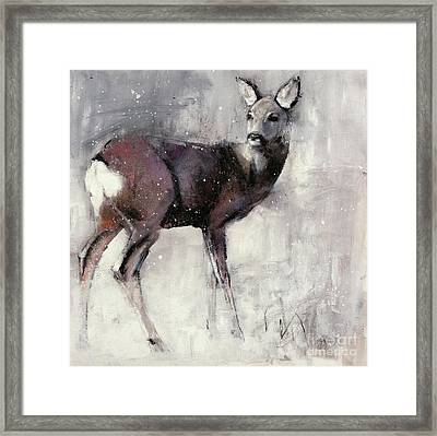 Roe Doe Framed Print