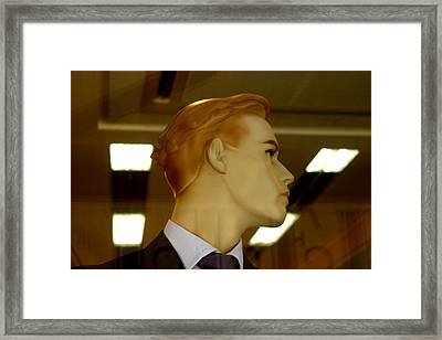 Roger 2 Framed Print by Jez C Self