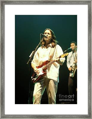 Roger Hodgson Ringos All Star Band Framed Print