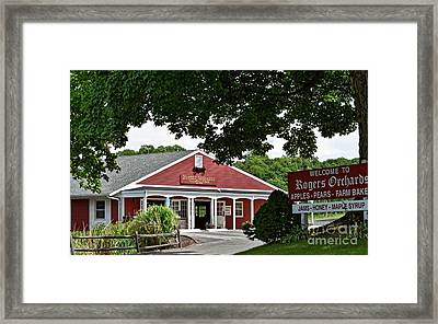 Rogers' Orchards Framed Print by Dani McEvoy