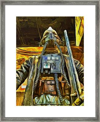 Rogue One Edrio Tubes - Pa Framed Print