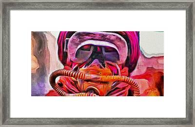 Rogue One Filtered - Pa Framed Print by Leonardo Digenio