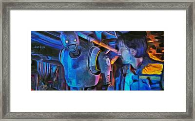 Rogue One Following - Pa Framed Print by Leonardo Digenio