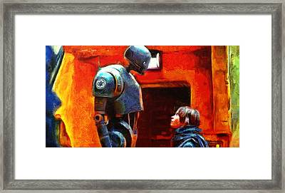 Rogue One I Will Not Kill You - Pa Framed Print
