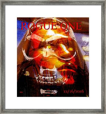 Rogue One Number Two Framed Print by David Lee Thompson