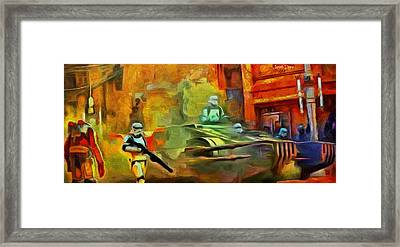 Rogue One Occupation - Pa Framed Print by Leonardo Digenio