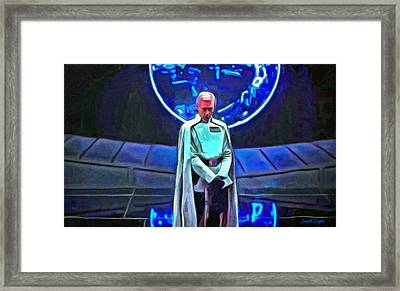 Rogue One Orson Krennic - Pa Framed Print