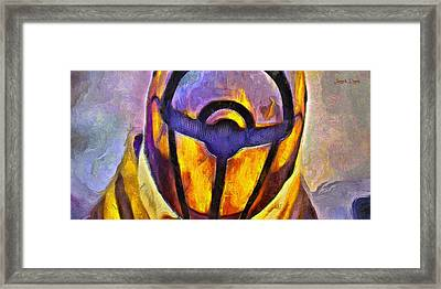 Rogue One Protected - Da Framed Print by Leonardo Digenio