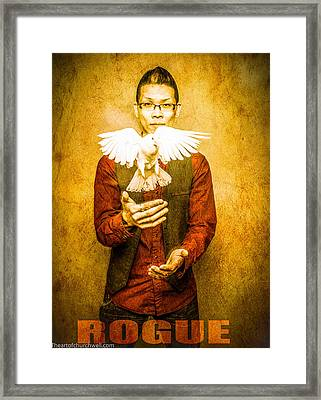 Rogue Poster Framed Print by Thomas Churchwell