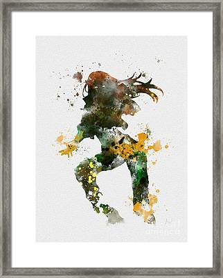 Rogue Framed Print by Rebecca Jenkins
