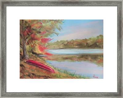 Rogue River Framed Print by Pete Maier