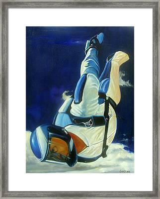 Rogue Framed Print by T Ezell