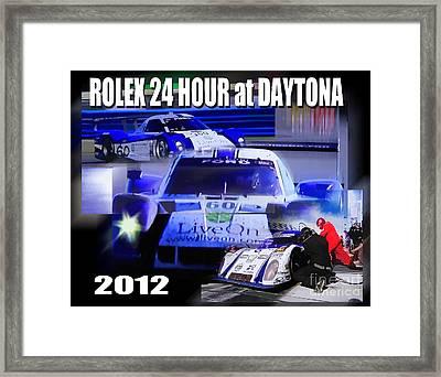 Rolex Daytona Framed Print