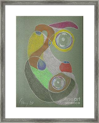 Roley Poley Vertical Framed Print by Rod Ismay