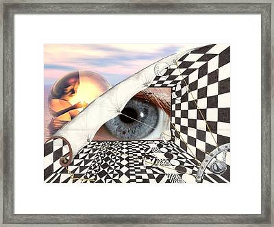 Roll Back Framed Print
