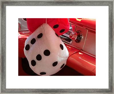Roll Of The Dice Framed Print by Richard Mansfield