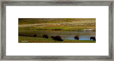 Roll On Roll On Framed Print by Greg Patzer