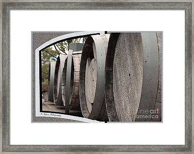 Roll Out The Barrels Framed Print
