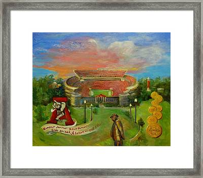 Roll Tide Framed Print