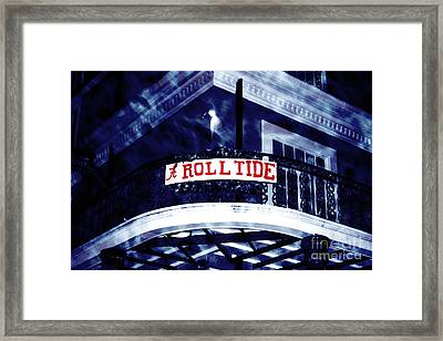 Roll Tide At The Sugar Bowl Framed Print by John Rizzuto