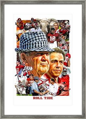 Roll Tide Framed Print by Mark Spears