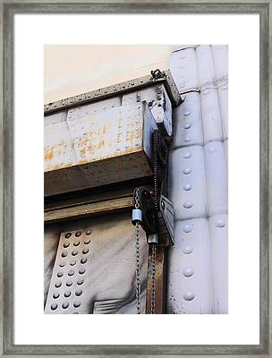 Roll Up Curtains Framed Print by Viktor Savchenko