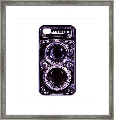 Eye Rolleiflex Euphoria Framed Print