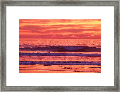 Rollin' Framed Print by Jean Booth