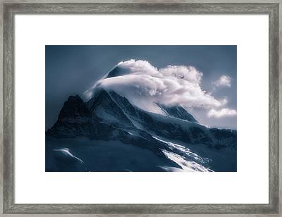 Rolling Clouds Framed Print by Joana Kruse