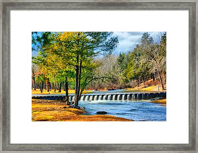 Framed Print featuring the photograph Rolling Down The River by Rick Friedle
