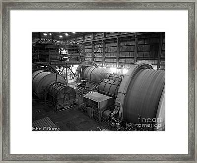 Framed Print featuring the photograph Rolling Drums by John Burns