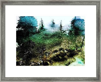 Rolling Fog Framed Print by Julia S Powell