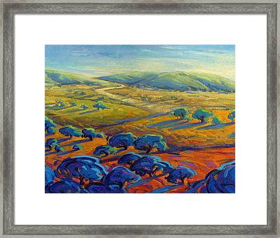 Rolling Hills 3 Framed Print