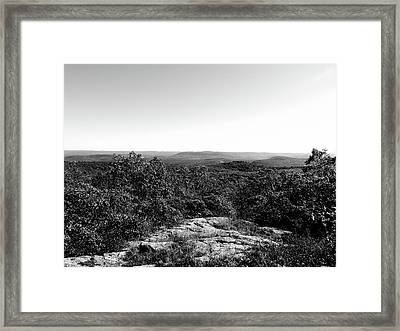 Rolling Hills Framed Print by Eric Radclyffe