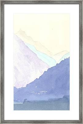 Rolling Hills Framed Print by Jim Green