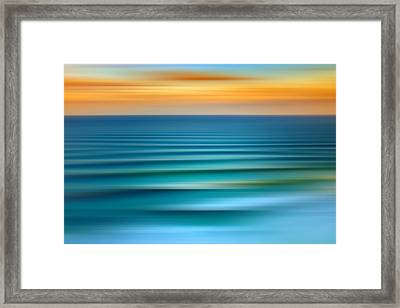 Rolling In Framed Print